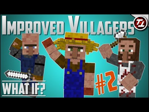 What If Minecraft had MUCH Better Villagers? (PART 2!) thumbnail