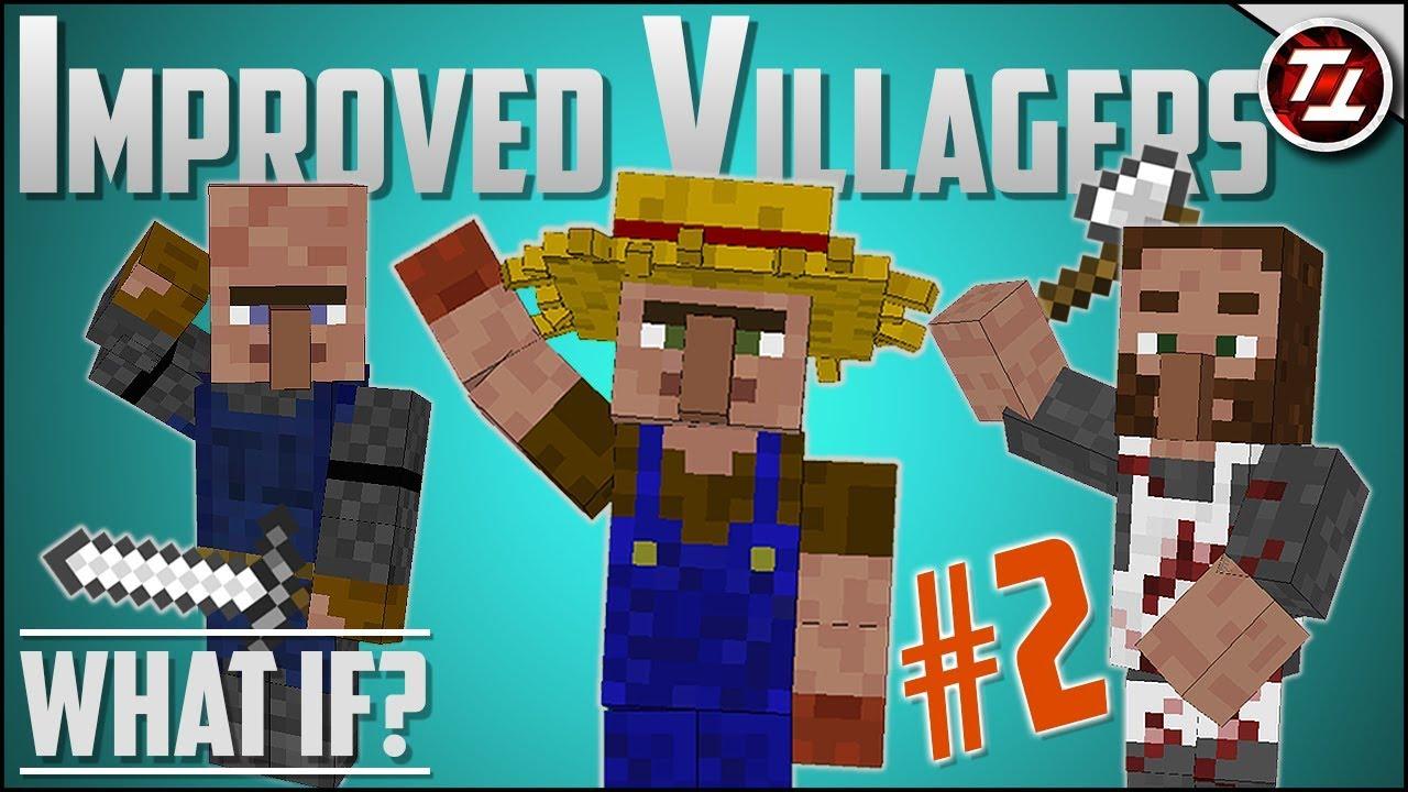 Minecraft Better Villagers Mod Tango Tek Download - Terkait Teks