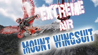 VR Gaming: Mount Wingsuit    ♫I Believe I Can Fly♫