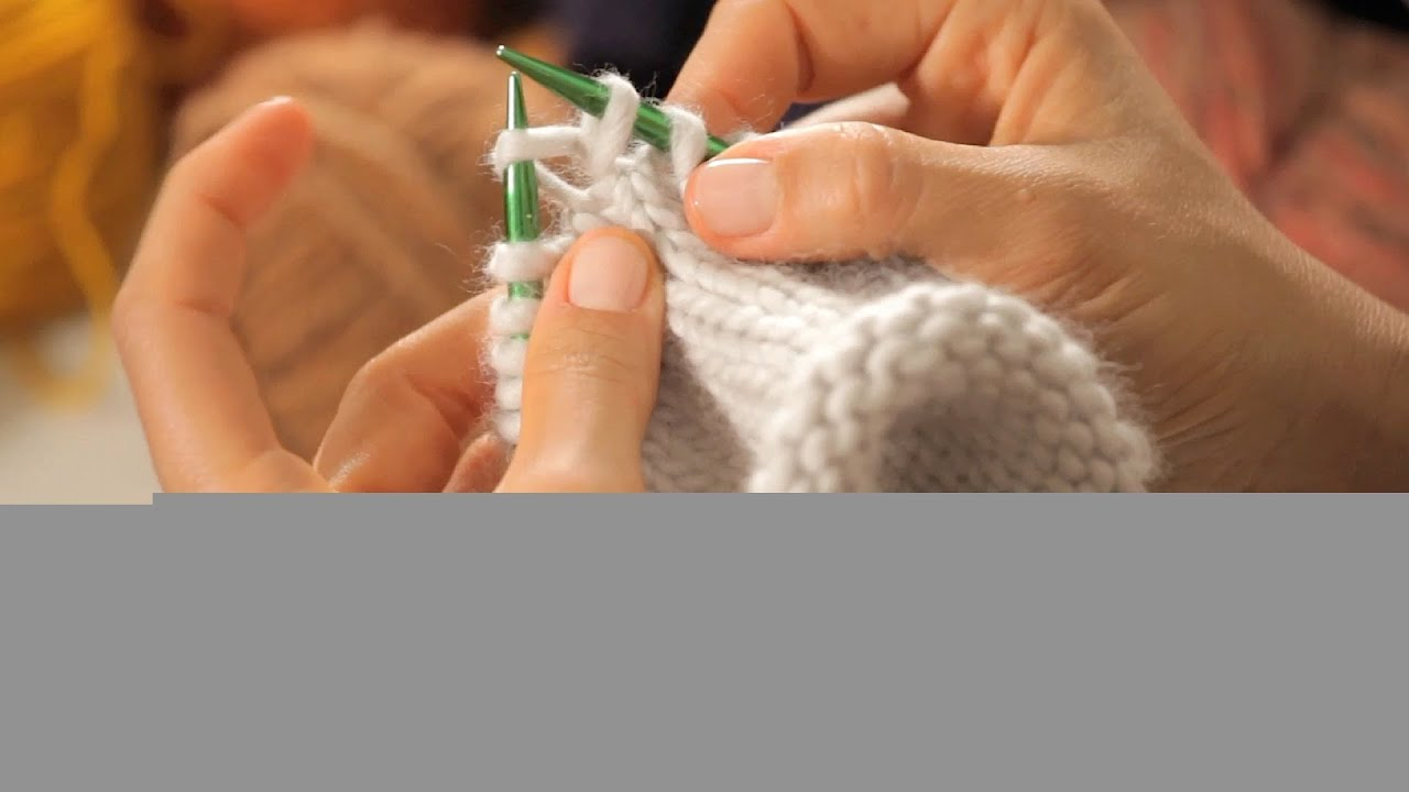 How to Increase on Circular Needles | Circular Knitting