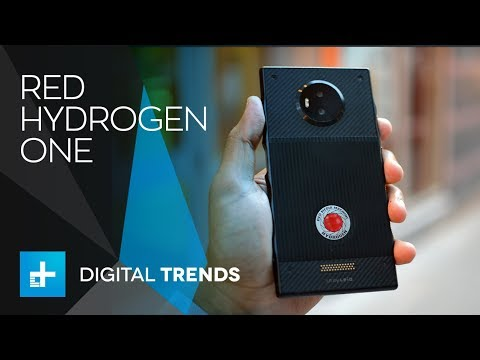 Red Hydrogen One Smartphone - Hands On Review