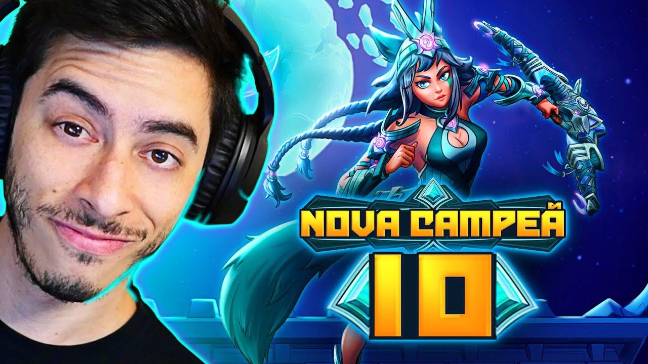 PATRIOTA - NOVA CAMPEÃ IO É BOA OU NÃO!? - Paladins