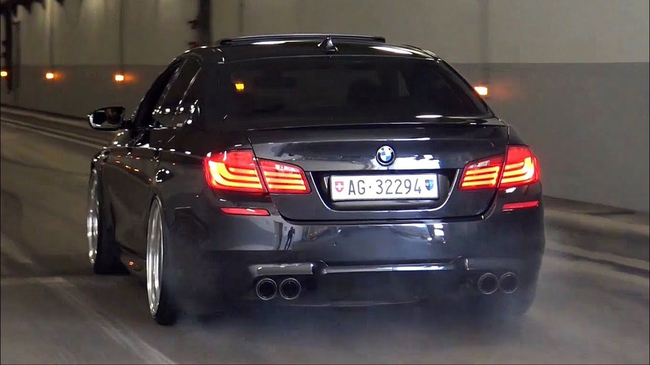 Download BEST of BMW M5 F10 Twin Turbo V8 Exhaust Sounds - iPE, Akrapovic & More!