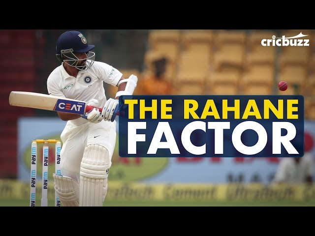 The time for Rahane to return to form is now