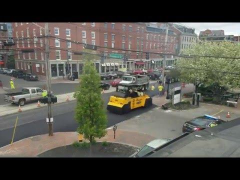 Paving Commercial Street Portland Maine