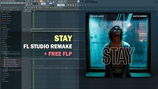 The Kid LAROI & Justin Bieber - Stay (Instrumental) + Free FLP Remake