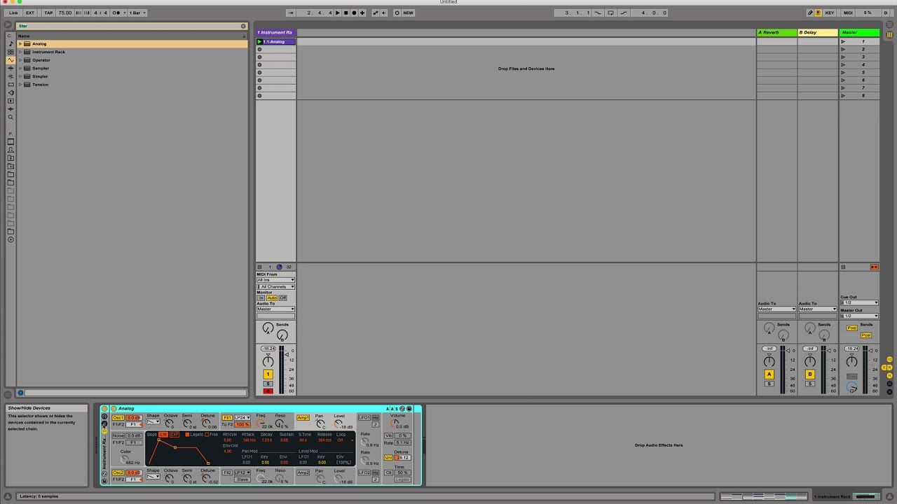 Creating A Pad in Ableton