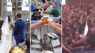 video: Pubs to allow ordering at the bar and nightclubs to reopen from July 19