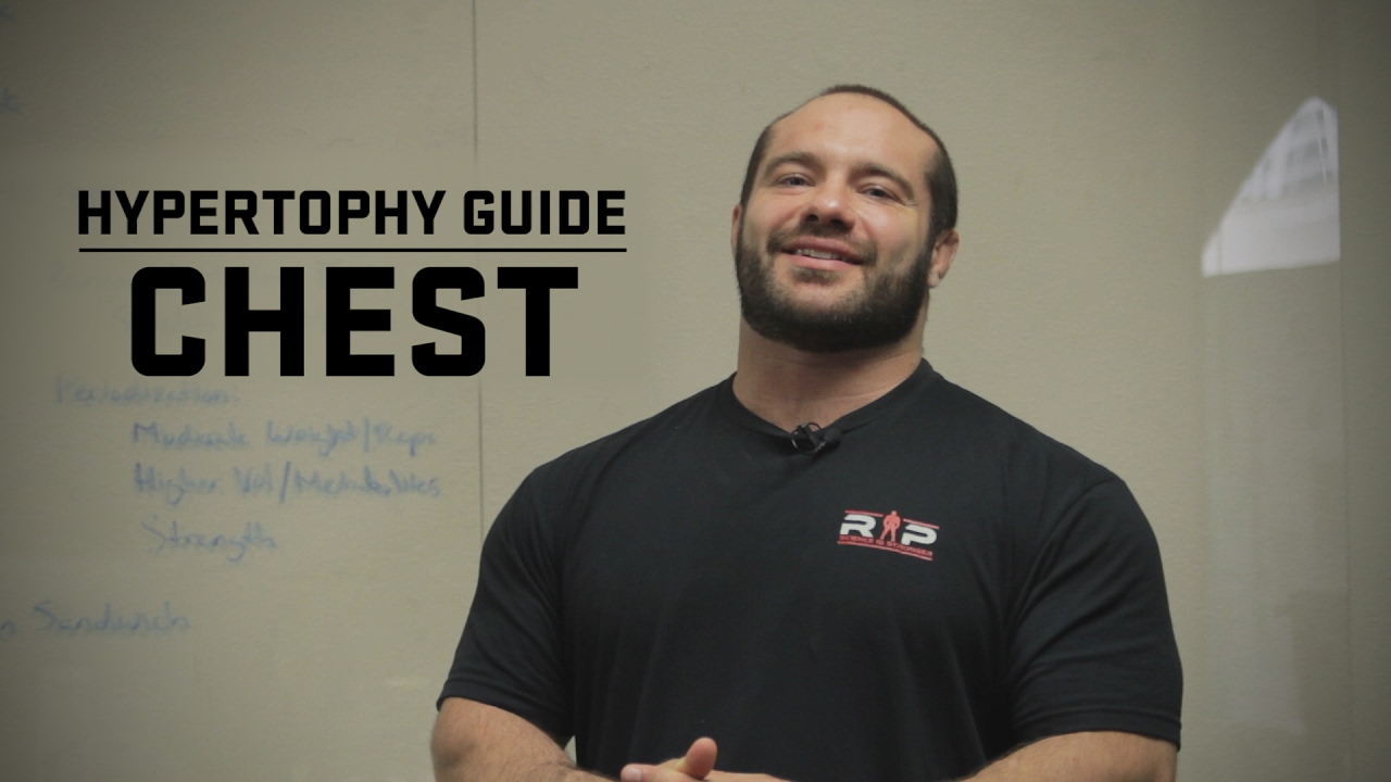 Hypertrophy Guide | Chest | JTSstrength com