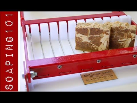 Red Multi Wire Loaf Soap Cutter Youtube
