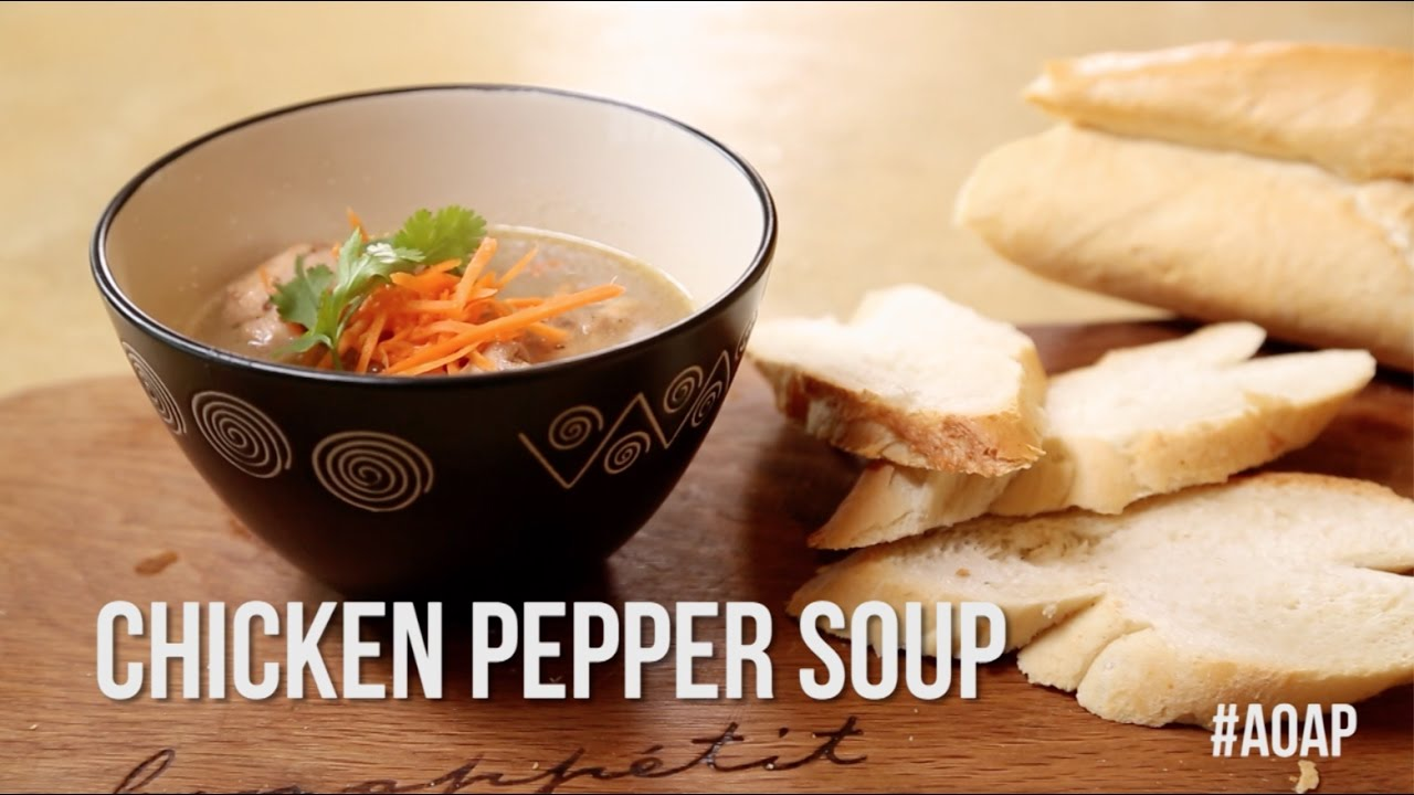 How To Cook Unripe Plantain Chicken Pepper Soup