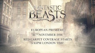 Fantastic Beasts And Where To Find Them: Live European Premiere from London
