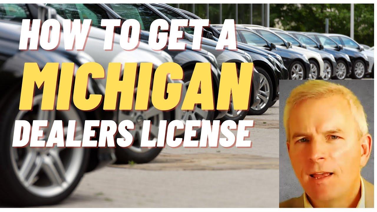 how to get dealership license