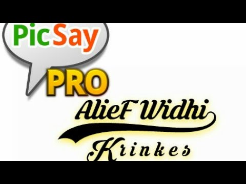 Cara memasang Font Krinkes (Picsay Pro) + Download Link #1