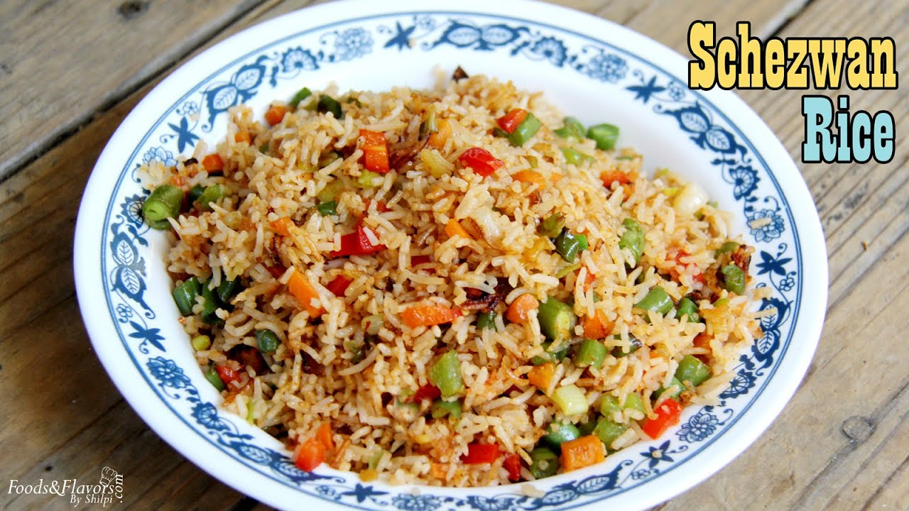 Schezwan Fried Rice | Indo Chinese Schezwan Fried Rice ...