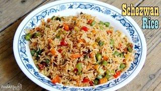 Schezwan Fried Rice |  Indo Chinese Schezwan Fried Rice Recipe - Veg Fried Rice, Fried Rice  Recipe