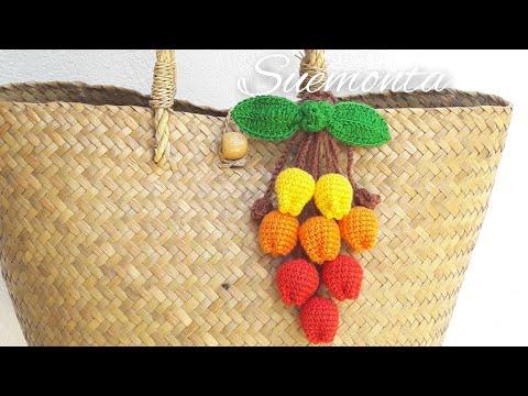 Crochet ถักดอกทิวลิป🌷|Diybysue