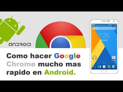 Como hacer mas rapido Google Chrome en Android / Truco facil 2015
