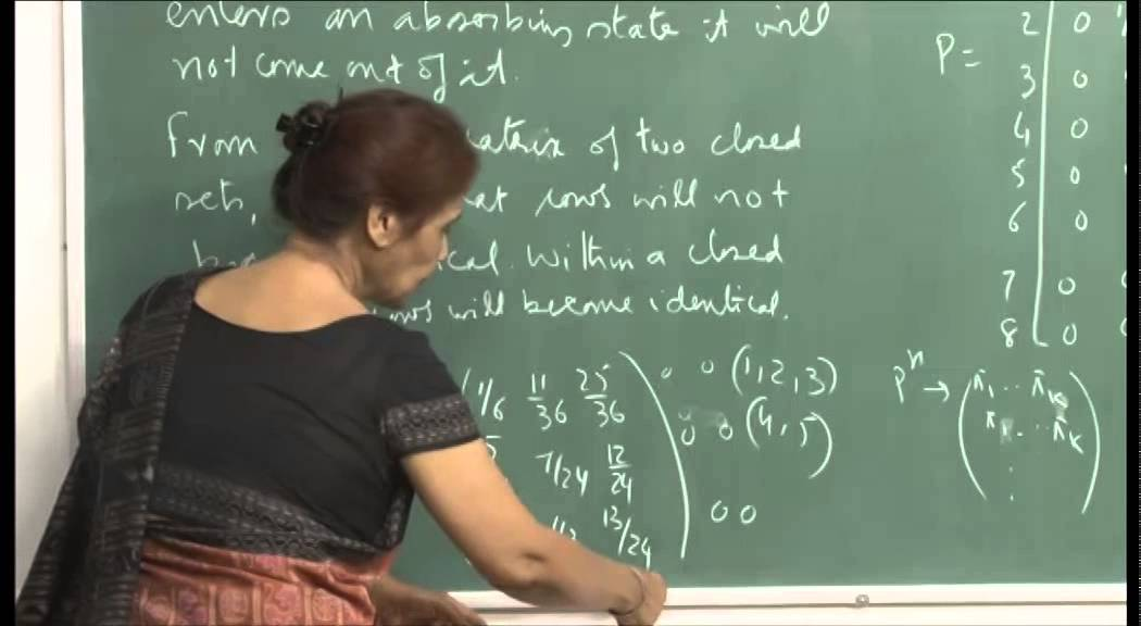 Mod-01 Lec-28 First passage and First return prob. Classification of states.