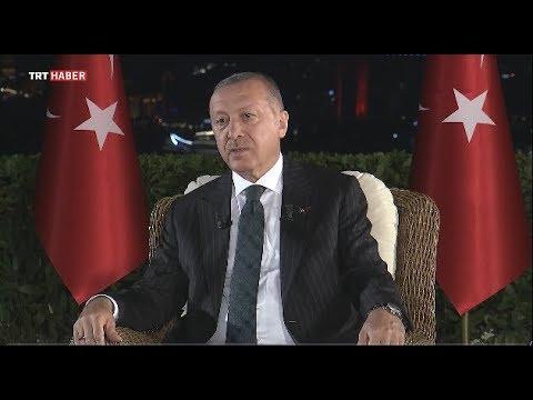 Cumhurbaşkanı Recep Tayyip Erdoğan'ın, sosyal medya hesabı üzerinden ortak yayını
