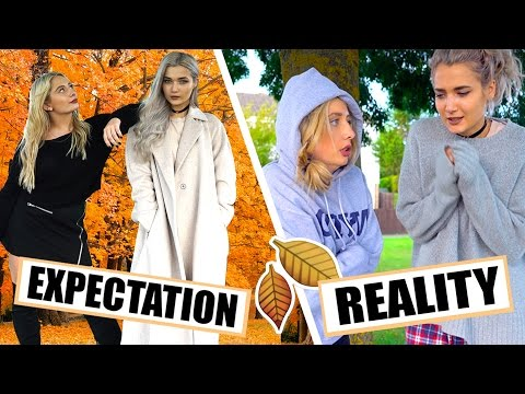 AUTUMN / FALL EXPECTATIONS VS REALITY!!! W ROXXSAURUS
