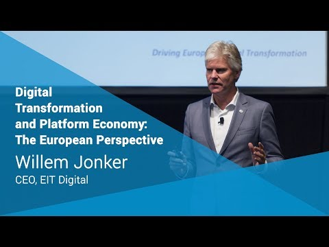 Digital Transformation and Platform Economy: The European Perspective | European Innovation Day 2017 Mp3