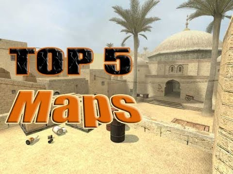 Top 5 Most Popular Maps in Counter Strike...