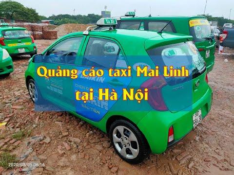 Daikin quảng cáo trên xe taxi Mai Linh tại Hà Nội [dannamadv.vn]