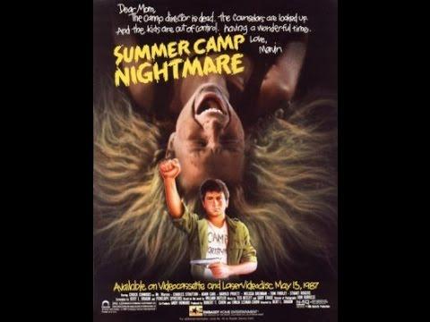 Summer Camp Nightmare c1987 Ebassy Home Entertainment