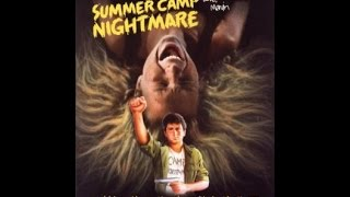 Summer Camp Nightmare c1987 Ebassy Home Entertainment