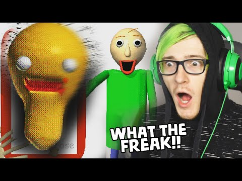 THE NEW BALDI GAME IS OUT AND ITS TERRIFYING - Baldis Basics Plus