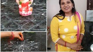 Monday vlog/Varalakshmi Vratam Muggulu/Padi Kolam/Sravanamasam Muggulu/Indianmom busy lifestyle