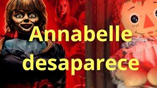 ¿Annabelle escapó del museo de los Warren?  2020