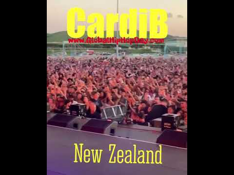 Cardi B Performing Money' & Be Careful' in New Zealand 🇳🇿- GlobalHiphopDay.com Mp3