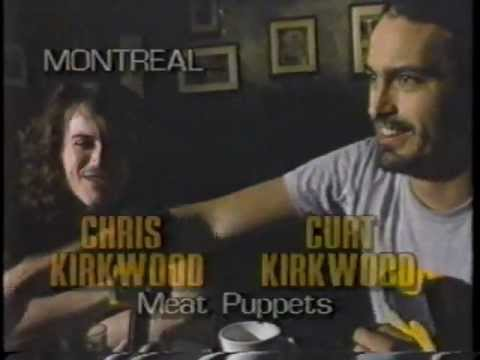 Meat Puppets - Interview + Live Montreal 1990