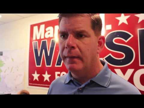Boston Mayor 2013: Marty Walsh on education