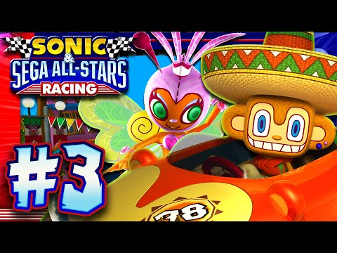 Sonic & Sega All Stars Racing PC - Part 3: Egg Cup (1440p 60FPS)