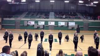Murray high school drill team military routine @region