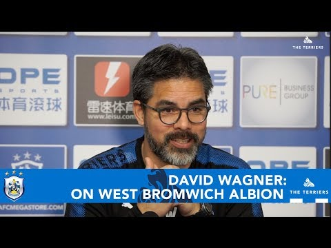WATCH: David Wagner previews West Bromwich Albion