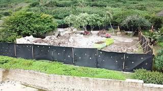 Demolition of the Magnum P.I. Estate