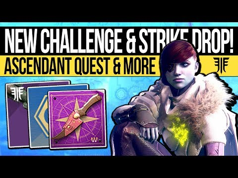 Destiny 2   NEW ASCENDANT CHALLENGE & NIGHTFALL WEAPON! Hidden Collectables, Portal Location & Guide