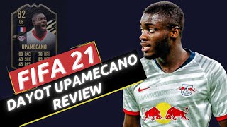 FIFA 21 DAYOT UPAMECANO PLAYER REVIEW - 82 RATED INFORM UPAMECANO REVIEW!