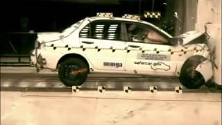 Краш тест Mitsubishi Lancer IX 2006