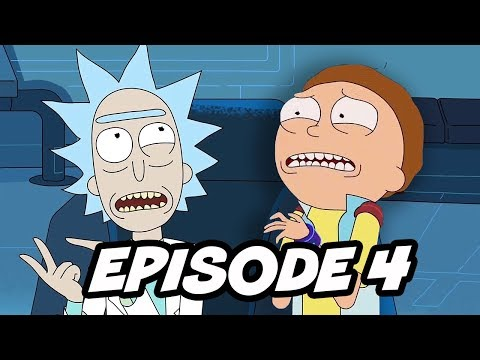 Rick and Morty Season 3 Episode 4 Easter Eggs and References