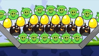 Angry Birds Bomb - BLAST OUT ALL PIGGIES GAMEPLAY WALKTHROUGH!