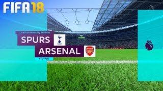 FIFA 18 - Tottenham Hotspur vs. Arsenal @ Wembley Stadium