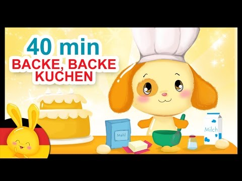 Backe, backe Kuchen - Kinderlieder deutsch - Titounis