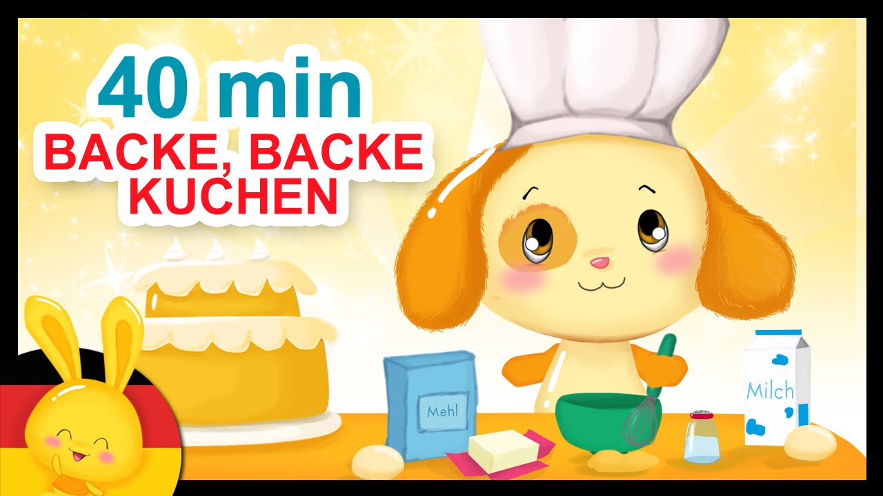 Backe Backe Kuchen Kinderlieder Deutsch Titounis Youtube