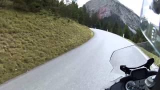 BMW R1200RT LC an awsome day climbing Hahntennjoch (Mountain pass) Austria