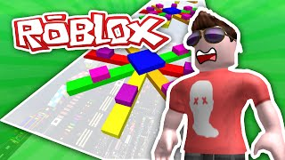 MEGA FUN OBBY #2 - FIRST TO LEVEL 100 | ROBLOX w/Imaflynmidget
